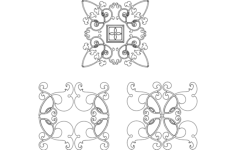 design work Free Dxf for CNC