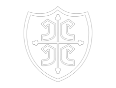 golf crest 1 Free Dxf for CNC