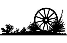 wheel b Free Dxf for CNC