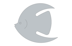 fish sm 4 Free Dxf for CNC
