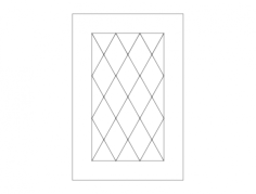 elegant door design Free Dxf for CNC