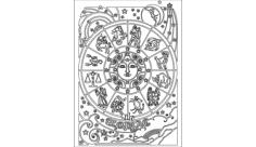 zodiac Free Dxf for CNC