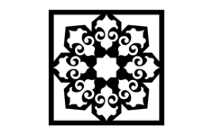 islamic pattern- 5 Free Dxf for CNC