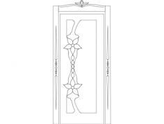 door design kap 001 Free Dxf for CNC