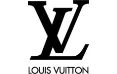 louis vuitton logo Free Dxf for CNC
