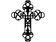 cross-33 Free Dxf for CNC