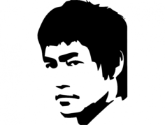 bruce lee Free Dxf for CNC