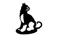 cat 2 Free Dxf for CNC