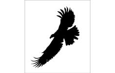 eagle logo Free Dxf for CNC