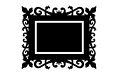 quadro trabalhado Free Dxf for CNC