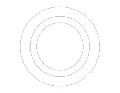 3d circs Free Dxf for CNC