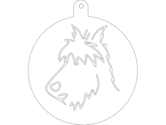 wire fox terr Free Dxf for CNC