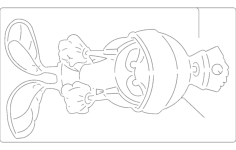 marvin Free Dxf for CNC