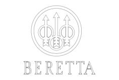 beretta-logo Free Dxf for CNC