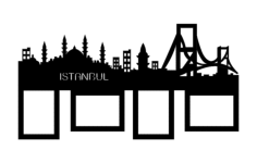 istambul Free Dxf for CNC