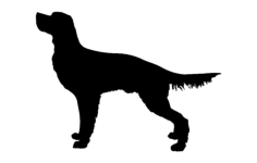 dog for hunting Free Dxf for CNC
