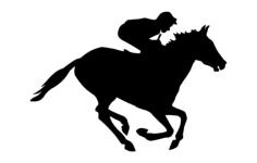 jockey horse Free Dxf for CNC