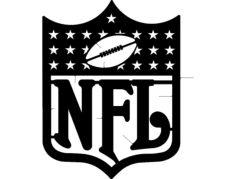 nfl Free Dxf for CNC
