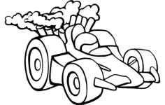 racing car Free Dxf for CNC