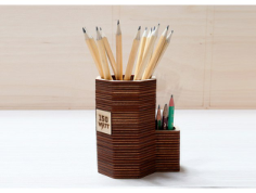 pencil stand Free Dxf for CNC