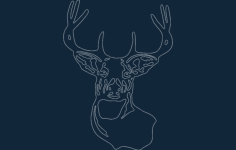deer best Free Dxf for CNC