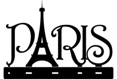 paris isimlik Free Dxf for CNC
