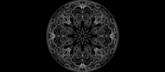 round design Free Dxf for CNC