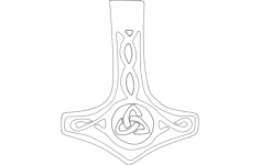 mjolnir Free Dxf for CNC