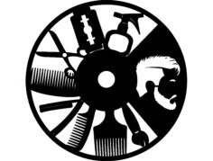 hak erkek kuaf r saati Free Dxf for CNC