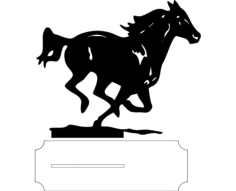cavalo Free Dxf for CNC