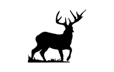 deer 2 Free Dxf for CNC