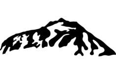 mountain  4 Free Dxf for CNC