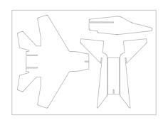 f15 Free Dxf for CNC