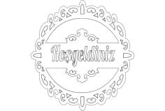 hosgeld n Free Dxf for CNC