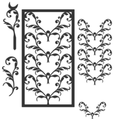 ivytrellis Free Dxf for CNC