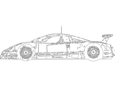 nissan 2 Free Dxf for CNC
