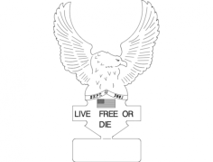 eagle 91101 Free Dxf for CNC