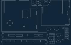 fantasy villa 7 Free Dxf for CNC
