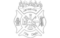 janesville fire dept Free Dxf for CNC