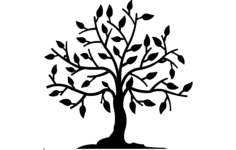 tree Free Dxf for CNC