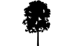 tree 23 Free Dxf for CNC