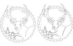 circular sawblades Free Dxf for CNC