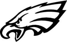 eagles Free Dxf for CNC