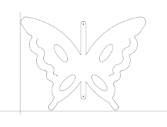 butterfly 7-07 Free Dxf for CNC