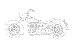 harley 3s Free Dxf for CNC