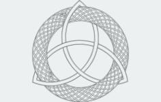 triquerta Free Dxf for CNC
