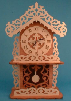 dp10-10 mantle clock Free Dxf for CNC
