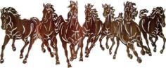 cavalli (horses) Free Dxf for CNC