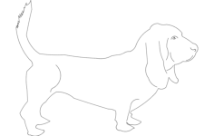 dog Free Dxf for CNC