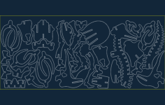 bronto Free Dxf for CNC
